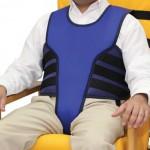 Chaleco con perineal para silla/sillon