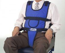 Chaleco con perineal para sillon o silla de ruedas