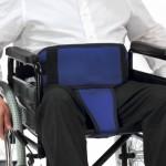 Cinturon con perineal para silla de ruedas