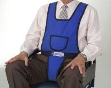 Peto CLIP con perineal para sillon o silla de ruedas