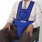 Peto VELCRO con perineal para sillon o silla de ruedas